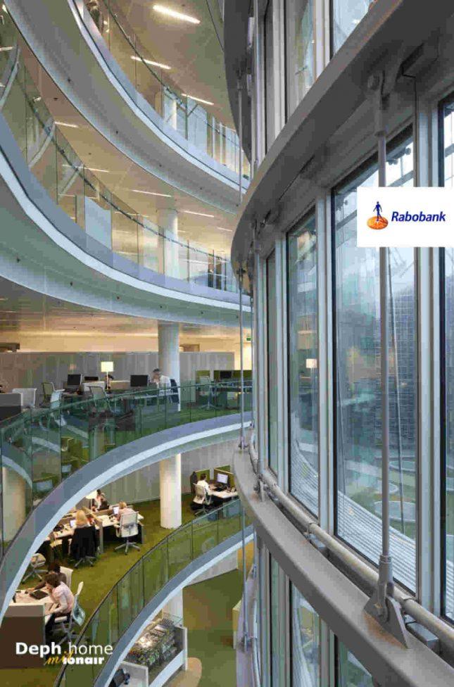 荷兰银行的空气品质-热门新风系统-新风系统品牌-德国新风系统-中央式新风系统-热交换新风系统-deph-home-极至空气品质系统-reference