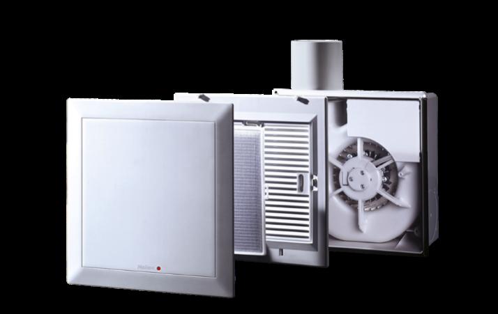 ELS梅超风dephina德菲兰德国制造原装进口35年经典打磨太阳神排风扇换气扇集成吊顶厨房卫生间超静音通风扇8.5寸ELS-V60/35 Duo ELS-V60/35家用