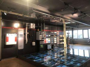 dephina太阳神展厅德国新风系统